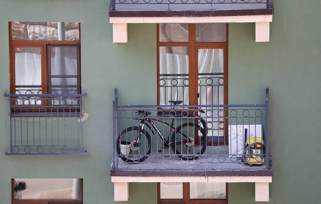 kaip balkonas